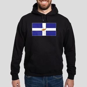 Flags of Greek Cypriots Hoodie (dark)