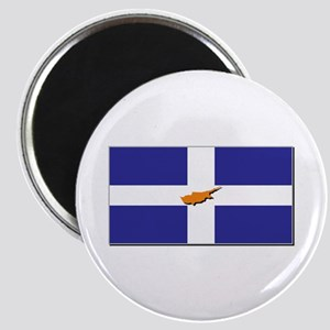 Flags of Greek Cypriots Magnet