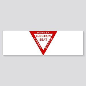 EJECTION SEAT LARGE Bumper Sticker