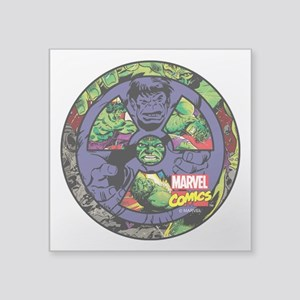 "The Hulk Icon Square Sticker 3"" x 3"""