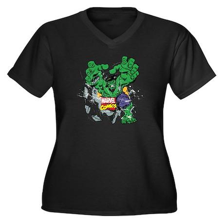 T Women's Cafepress Plus V 1269400476 Dark shirt Size neck Yp7pqdw