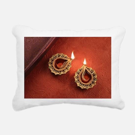 Unique Diwali Rectangular Canvas Pillow
