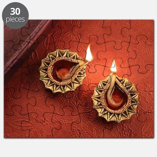Unique Diwali Puzzle
