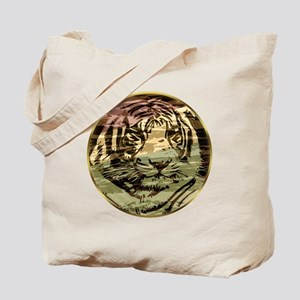 Golden tiger Tote Bag