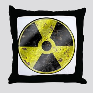 Fallout design art Throw Pillow