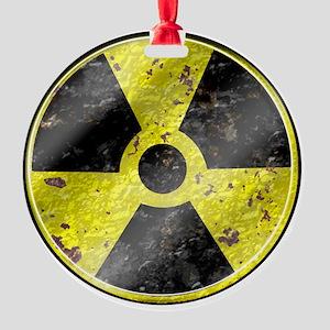 Fallout design art Round Ornament