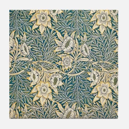 William Morris Tulip and Willow Tile Coaster
