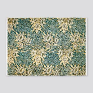 William Morris Tulip and Willow 5'x7'Area Rug