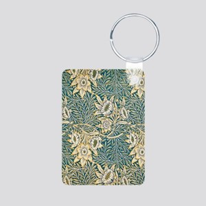 William Morris Tulip and Willow Keychains