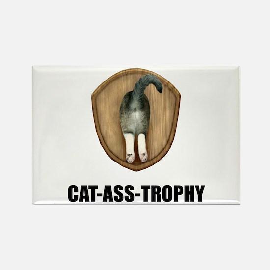 Cat Ass Trophy Magnets