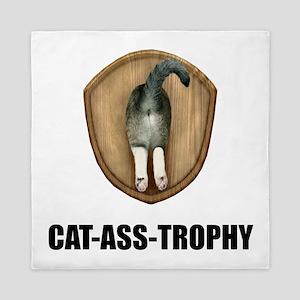 Cat Ass Trophy Queen Duvet