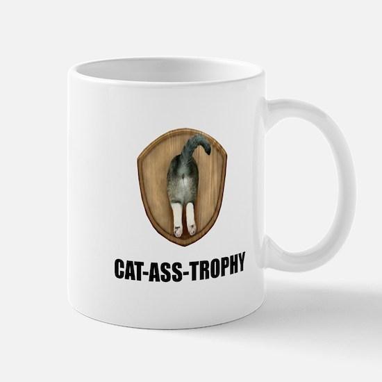 Cat Ass Trophy Mugs