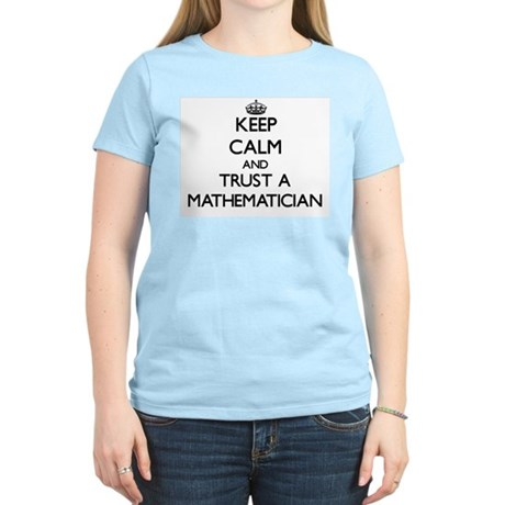 Keep Calm and Trust a Maamatician T-Shirt