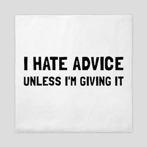 Hate Advice Queen Duvet