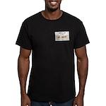 Mr. White Men's Fitted T-Shirt (dark)