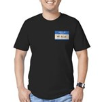 Mr. Blue Men's Fitted T-Shirt (dark)