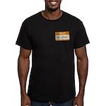 Mr. Orange Men's Fitted T-Shirt (dark)