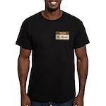Mr. Brown Men's Fitted T-Shirt (dark)