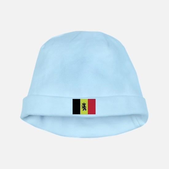 Belgium State Ensign Flag baby hat