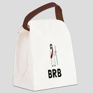 Jesus BRB Canvas Lunch Bag