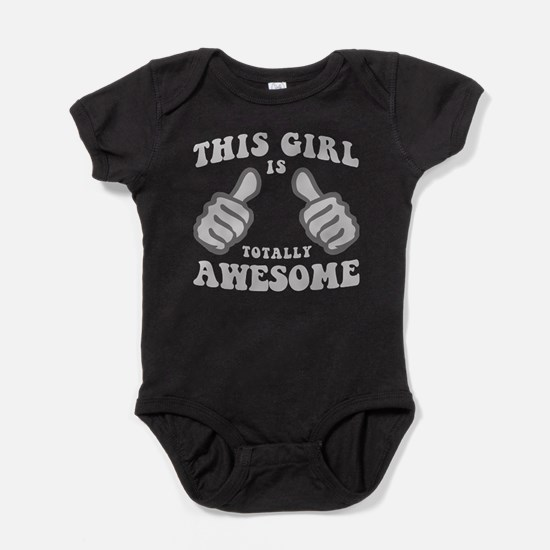 This Girl Is Awesome Baby Bodysuit