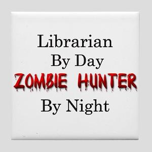 Librarian/Zombie Hunter Tile Coaster