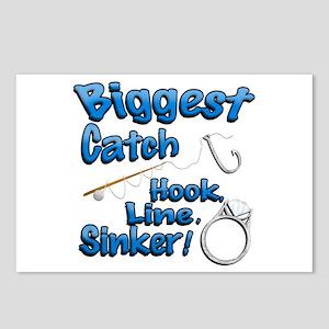 Biggest Catch Hook Line Sinker Wedding Ring! Postc