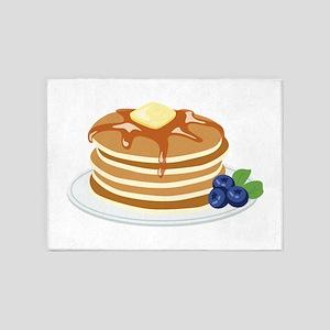 Pancakes 5'x7'Area Rug