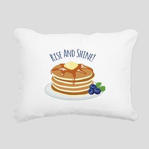 Rise And Shine! Rectangular Canvas Pillow