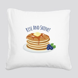 Rise And Shine! Square Canvas Pillow