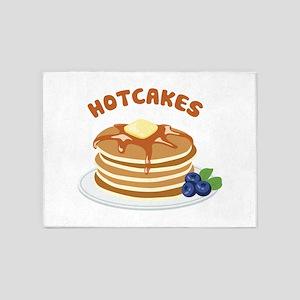 Hotcakes 5'x7'Area Rug