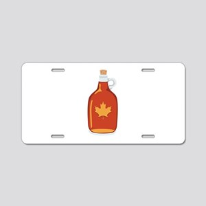 Canadian Maple Syrup Aluminum License Plate