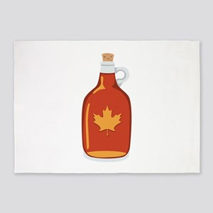 Canadian Maple Syrup 5'x7'Area Rug