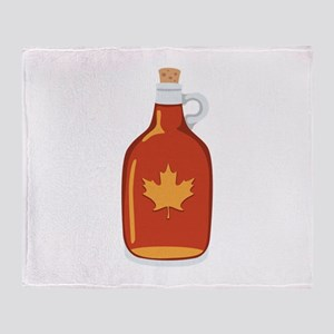Canadian Maple Syrup Throw Blanket