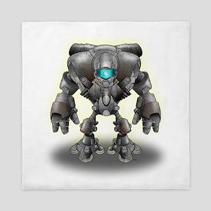 Warrior Robot Queen Duvet