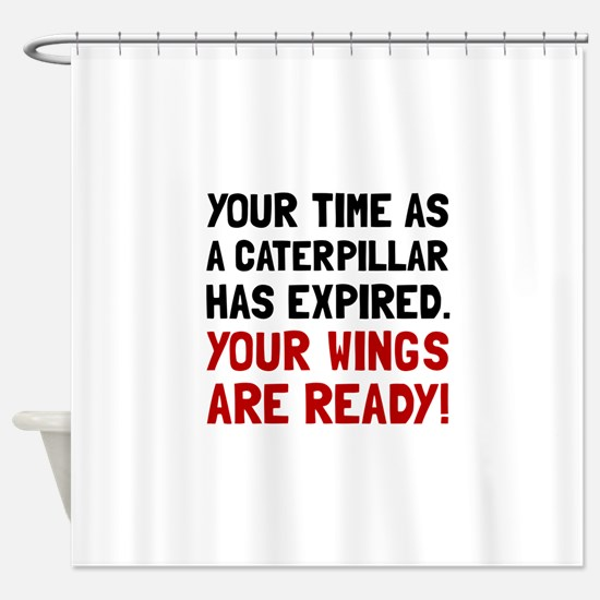 Wings Ready Shower Curtain