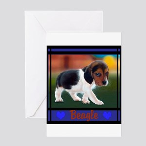 Beagle Greeting Cards