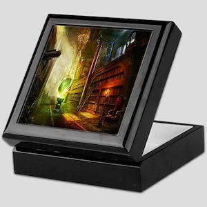 Mystical Library Keepsake Box