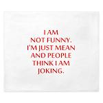 I am not funny King Duvet