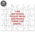 I am not funny Puzzle