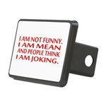 I am not funny Hitch Cover
