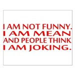 I am not funny Posters
