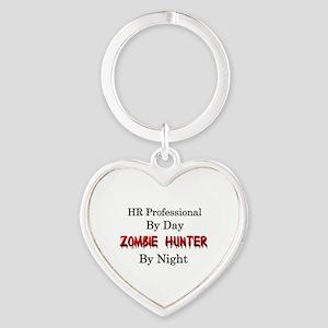 HR Professional/Zombie Hunter Heart Keychain