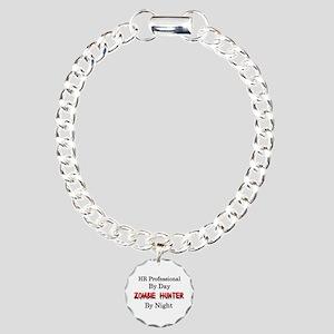 HR Professional/Zombie H Charm Bracelet, One Charm