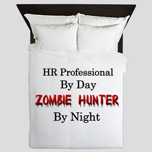 HR Professional/Zombie Hunter Queen Duvet