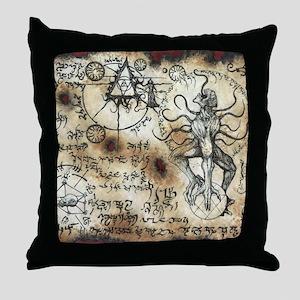 Nyarlathotep Scroll Throw Pillow