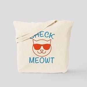 Check Meowti Tote Bag