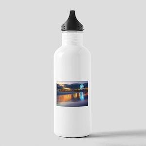 SANTA MONICA PIER Water Bottle