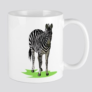 Realistic Zebra Design Mug