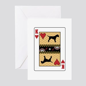 King Terrier Greeting Cards (Pk of 10)